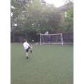 Tennis ball kick ups