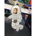 astronaut MG