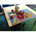 Y5 making anglo saxon villages