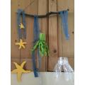 octopus, water, jellyfish and starfish