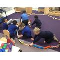How big can we make the train track?