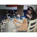 Dogs playing poker ML