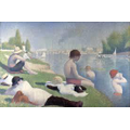 Bathers at Asnieres - Georges Seurat