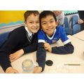 Exploring the water cycle using jam jars!