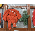 3d salt dough figure