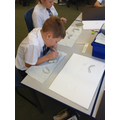 Making clay versions of our own teeth