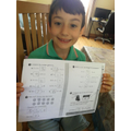 Great maths Pino - well done!
