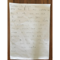 Charles' letter from home