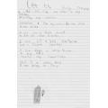 Isaac wrote a poem that rhymes.