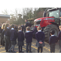 Learning about the tractor