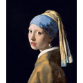 Girl with a Pearl Earring by Johannes Vermeer 1665