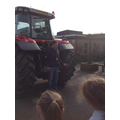 Oliver shows us the tractor's arms