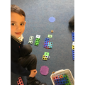 using place value to make numbers in numicon