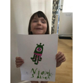 Wow Niamh! Fabulous Alien!