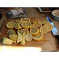 We made elderflower cordial! You need lemons...