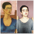 Frida Kahlo self portrait 1930 - AB portrait