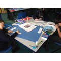 Y6 Collaboratively working on a poem