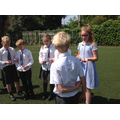 Y5 made a conscience alley as part of a debate