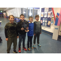 Swimming Team - Boys' Catholic Cup Winners 2020