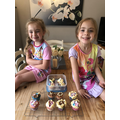 delicious looking cakes girls!