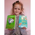 Summer loves her reading books