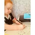 Super pencil skills Fletcher!