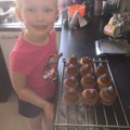 Home baking, they look delicious Aubree!