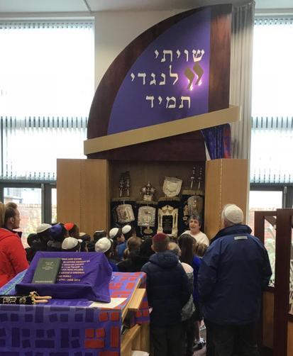 Y4 visited the Birmingham Central Synagogue