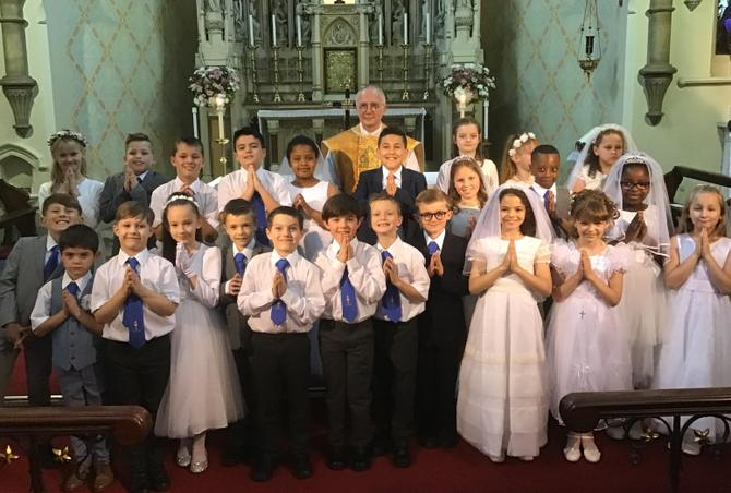 St. Mary's First Holy Communicants, June 2019