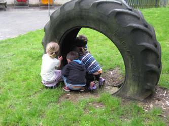 children-tyre