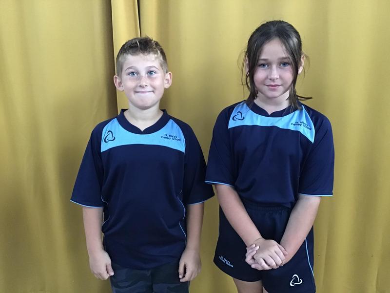 Finlee and Ellie Team Attenborough