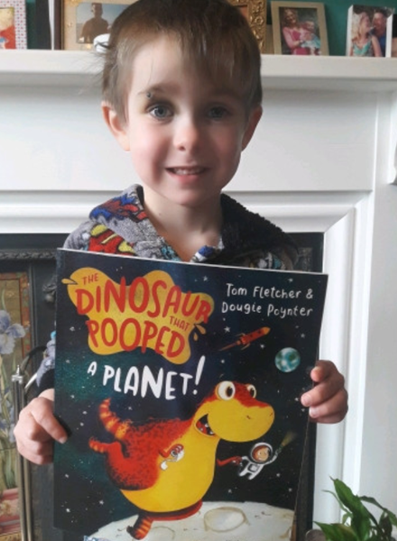 Finlay J's favourite book!