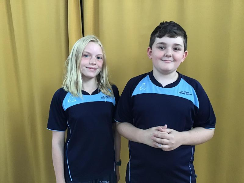 Stella and Jacob Team Malala