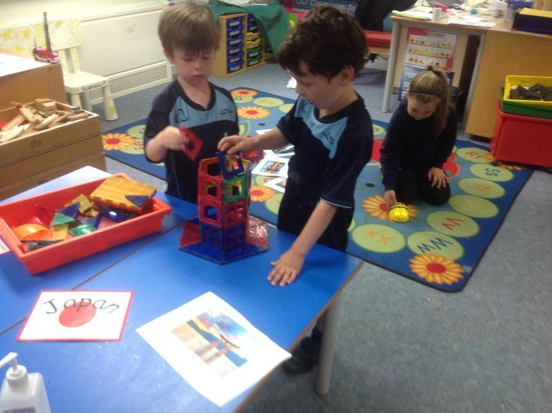 Building a pagoda