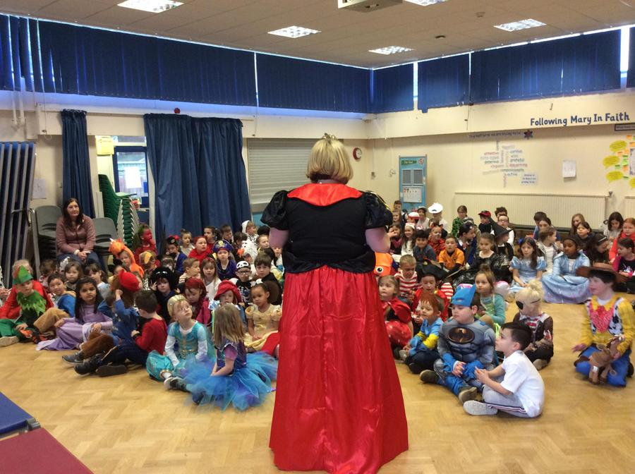 Assembly time to celebrate World Book day