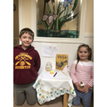 Josh and Bethany have made a prayer table at home