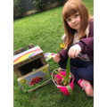 Lilly has made a bug house
