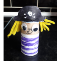 Chloe's brilliant pirate- well done!