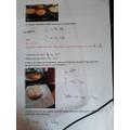 Daisy and Finn's baking maths