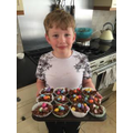 Ethan has made some delicious cakes!