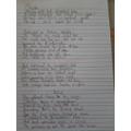 Daisy's wonderful writing