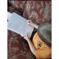 Finn's brilliant writing!