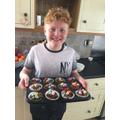 Frazer has made some delicious cakes too!