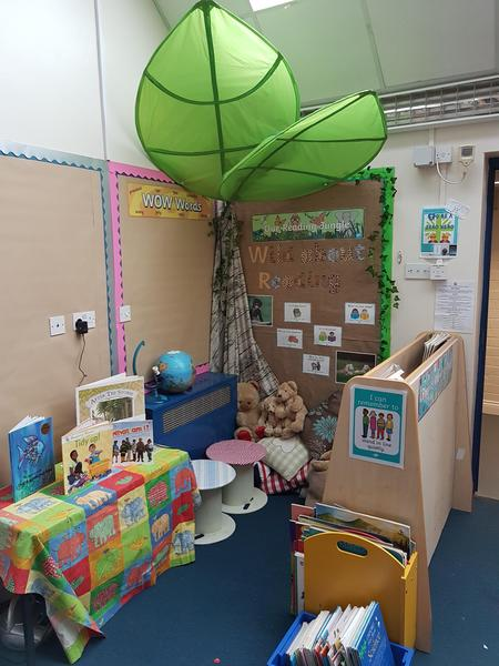 Our reading area