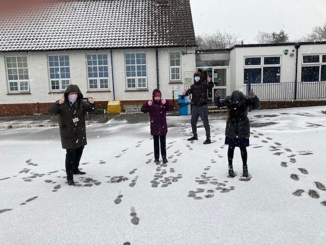 Snow January 2021