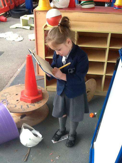 Year 1 making lists.