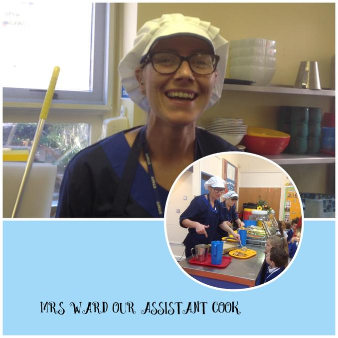 Mrs Katie Ward - Assistant Cook/Breakfast Club Assistant/Cleaner