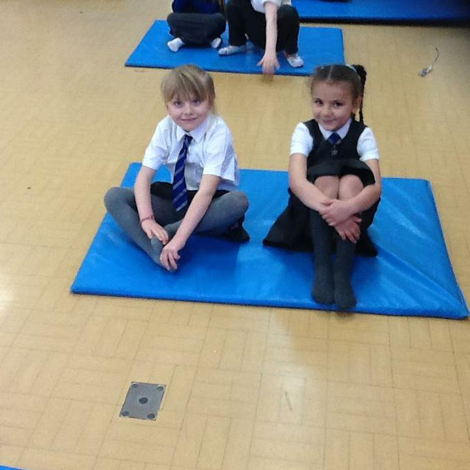 Yoga lesson 2.