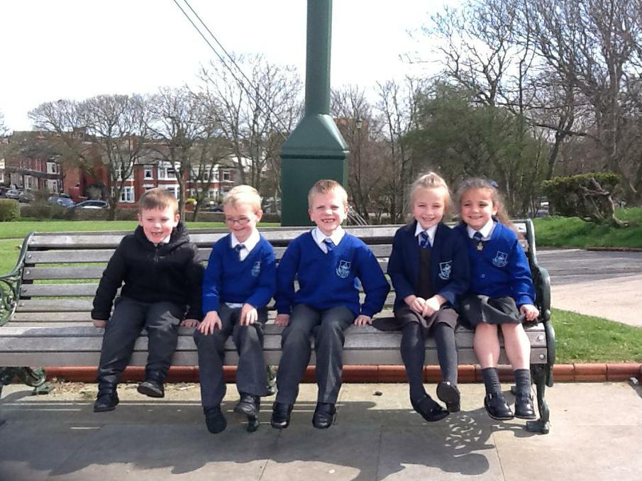 Year 1 went on a Geography walk.