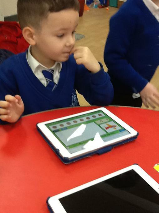 Money on the iPad.